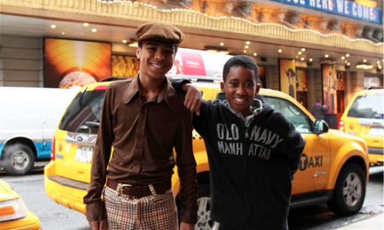 2 Teens Have a Ball Playing Michael Jackson on Broadway