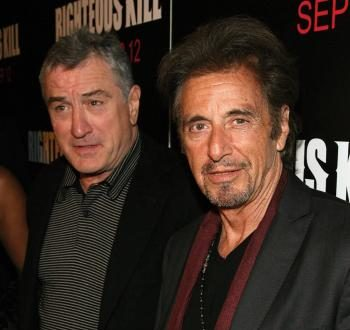 De Niro, Pacino at the Premiere of 'Righteous Kill'