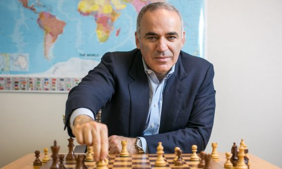 Chess Grandmaster Garry Kasparov Fights the World's Dictators
