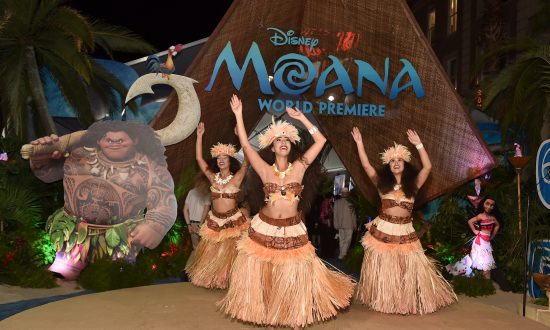 'Moana' a Celebration of Traditional Culture