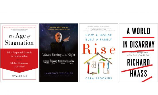 Books Ranging From Astrophysics to the Resiliency of a Family