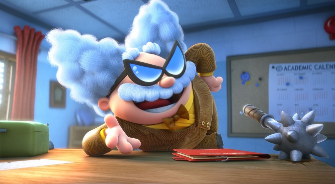 Professor Poopypants (voiced by Nick Kroll) in DreamWorks Animation's