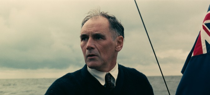 "Mark Rylance as Mr. Dawson  in the Warner Bros. Pictures action thriller ""Dunkirk,"