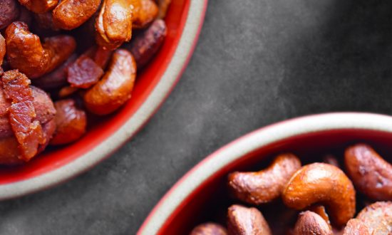 Spicy Bacon Honey Nuts & Hurricane Pig Nuts