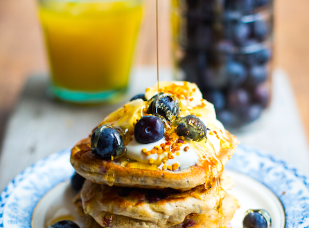 These are the gluten-free pancakes that are both healthy and scrumptious