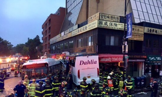 3 Dead, at Least 16 Hurt After Buses Collide in New York City