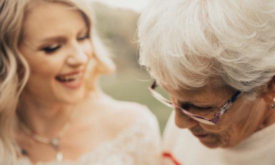 Tears Flow as Bride Surprises Grandmother With Secret Wedding Dress