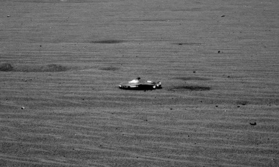 NASA says object on Mars is debris from rover, not alien-made