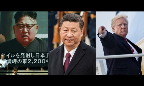Trump Says China Sending Envoy to North Korea Is a 'A Big Move'