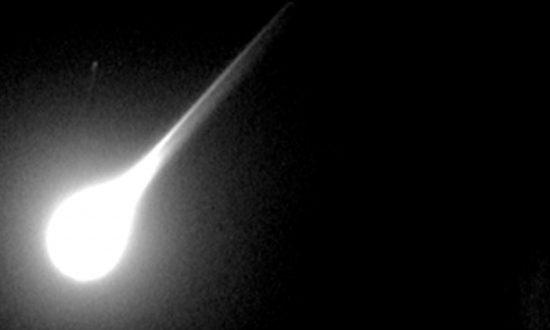 Giant Fireball Lights Up Arizona Sky