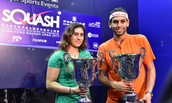 Egyptian Double as El Sherbini and Elshorbagy Victorious in Hong Kong Open