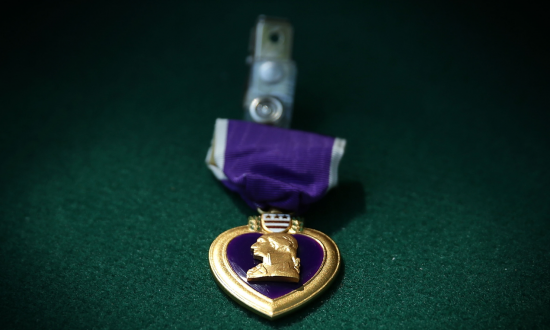 Family of U.S. army veteran lost his purple heart—but tracking it down they found out some shocking things about his past