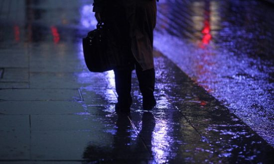 Homeless Man Stands in the Rain for Hours to Guard Cash Left in an Open Car