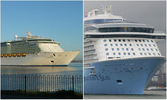 500 Fall Sick Aboard 2 Royal Caribbean Cruises