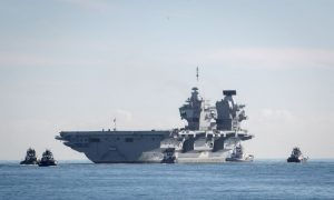 Australian Navy to Accompany UK's Largest Warship Ever Built in Pacific
