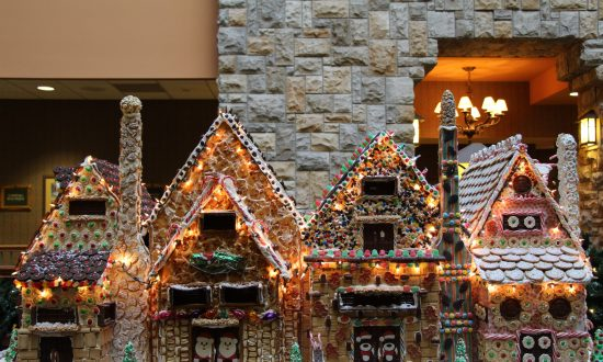 When Pastry Chefs Play Architect: Gingerbread Monuments and Cookie Villages