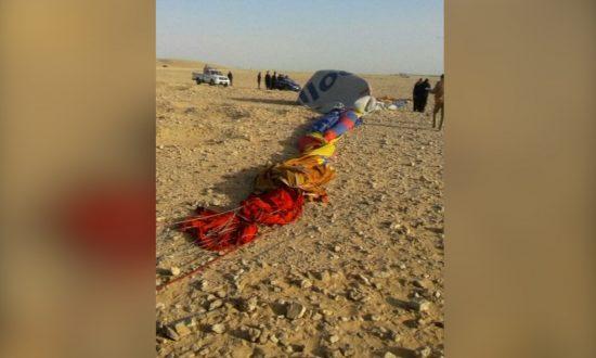 Tourist Killed, Several Injured in Egypt Hot Air Balloon Crash