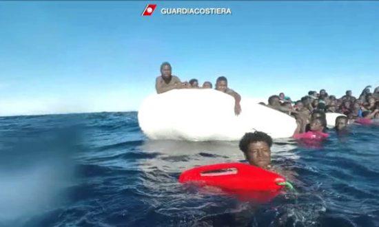Up to 64 Migrants Drown in Weekend Sinking Off Libya