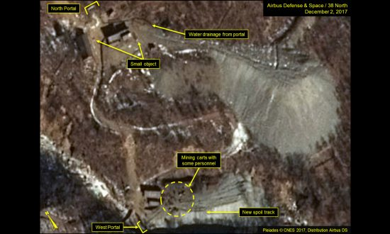 Satellite Photos Reveal North Korea Developing Nuclear Test Site