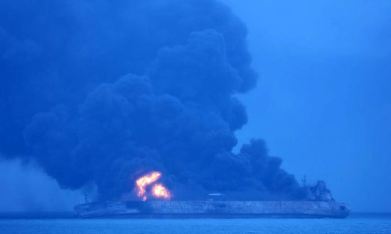 Burning Iranian Oil Tanker Sinks After January 6 Accident: Chinese State TV