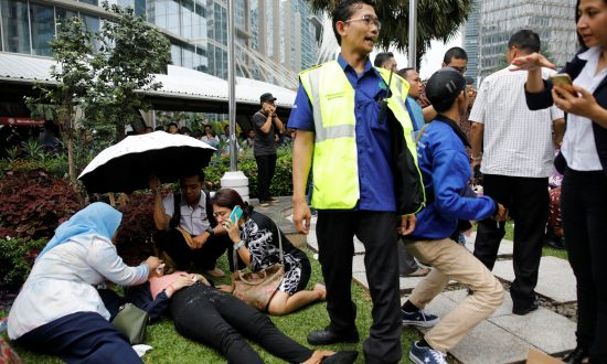 Scores Injured as Indonesia Stock Exchange Building Lobby Floor Collapses