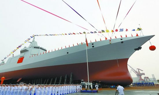 Chinese Regime Races for Naval Supremacy, Building 8 Cruisers While US Builds None