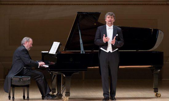 Tenor Jonas Kaufmann Sings 'Die schöne Müllerin' at Carnegie Hall