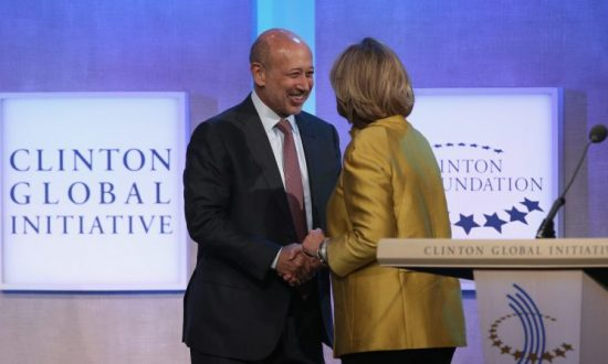 Goldman Sachs CEO Who Backed Hillary Clinton Says Economy Better off Under Trump