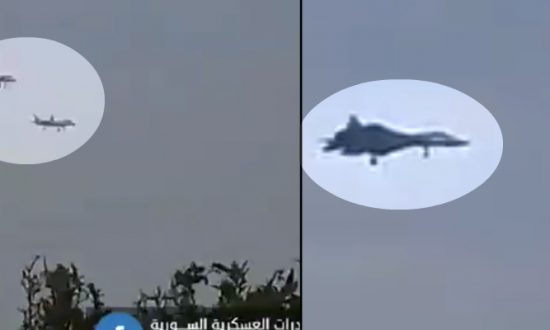 Video Captures Russian Advanced Stealth Fighter in Syria
