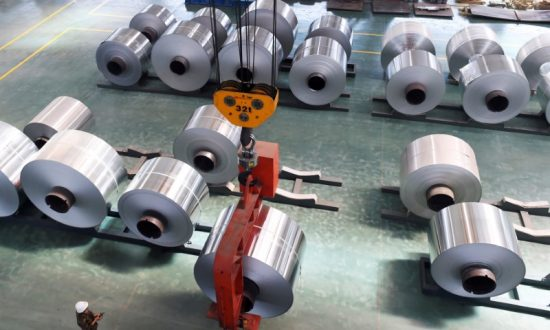 US Commerce Department Says China Is Dumping Aluminum Foil Imports