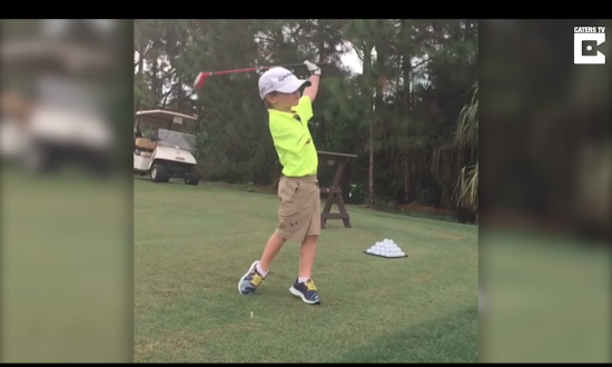 6-year-old is a golfing prodigy—most people don't even realize what he's missing