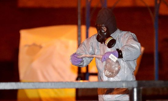 Nerve Agents Could Have Been Stolen in Post-Soviet Chaos: Experts