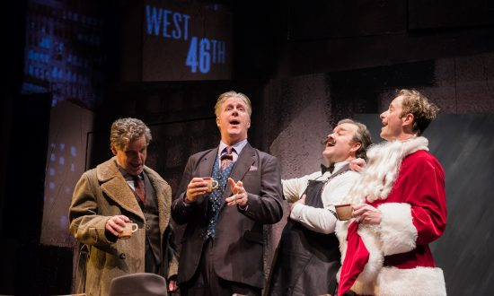 Theater Review: 'Three Wise Guys'