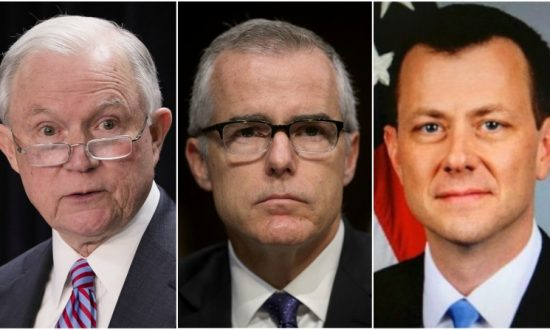 Sessions Fired McCabe for Authorizing Anti-Trump FBI Official to Leak to Press