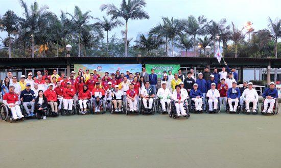 Hong Kong and Korea Share Glory at Disabled Open