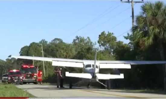 Florida Pilot Makes Emergency Landing on Road, Narrowly Missing Power Lines