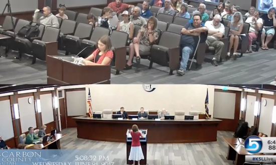 10-year-old girl loves reading—so to save her library—she stepped up to where most adults don't go