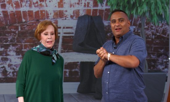 Comedian Russell Peters Reinvents Himself Alongside Carol Burnett