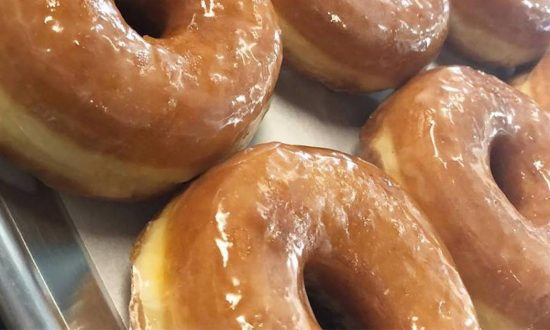 Donut shop camera catches her in the act, but instead of calling cops—they're spreading this