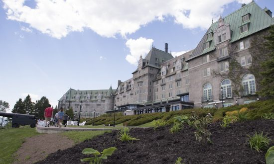 Century-old Quebec Hotel Selected to Host G7