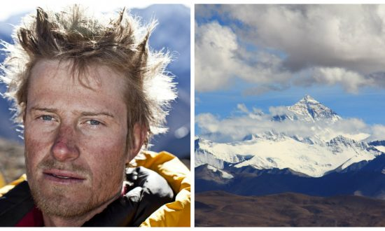 After an avalanche nearly killed him, he faced a much scarier challenge—now he's back on top of world