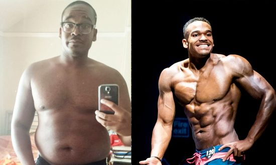 Doughnut Addict Sheds a Third of His Body Weight to Become a Body Builder
