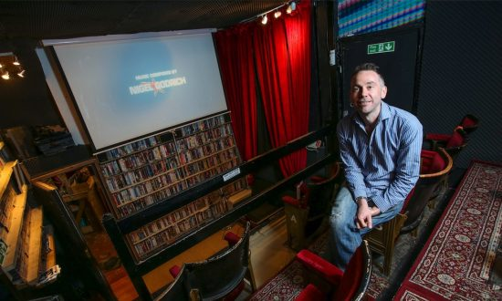 One of the Last Video Rental Shops Survives By Converting Into Tiny Cinema
