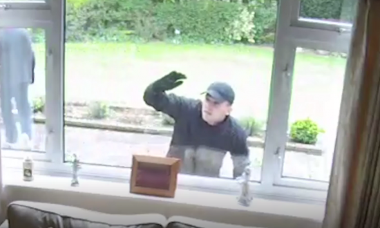 Caught on Camera: Burglars Try to Disguise Themselves