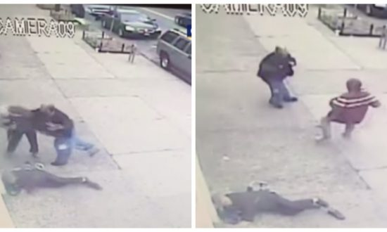 Elderly women were viciously attacked by random passerby—the footage is frightening to watch