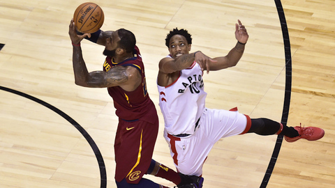 Raptors 'Can't Wait' for Game 2 Against Cavaliers