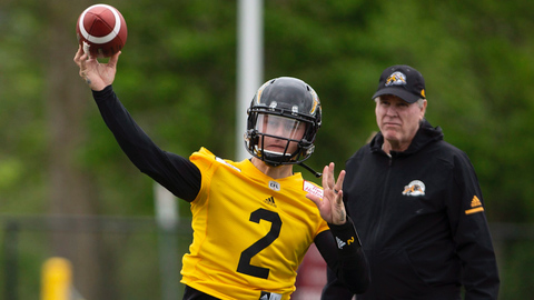 New Ticats QB Manziel Excited to Play in 'Offensive-Minded' CFL