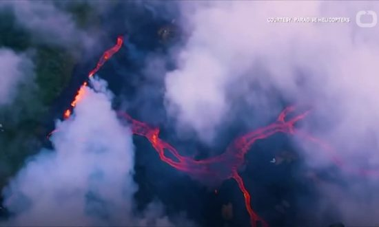 Deadly Acid Clouds Rise Over Hawaii As Lava Continues To Flow