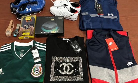 Customs Agents Seize $16 Million of Chinese Counterfeits in Texas