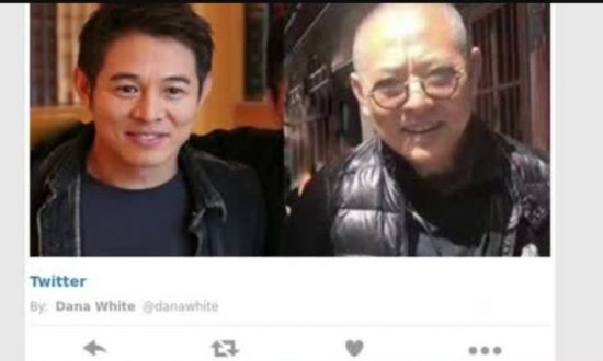 Viral Photo Prompts Concerns About Jet Li; He Responds